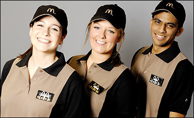 Mc Donalds Uniform 21